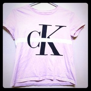 CALVIN KLEIN CROP TOP PINK